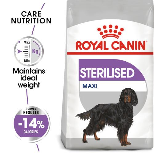 Royal Canin Maxi Sterilised Care Adult Dry Dog Food 9kg