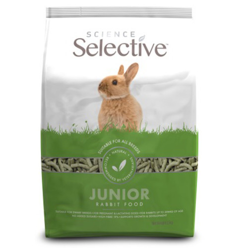 Supreme Science Selective Junior Rabbit with Spinach 10kg
