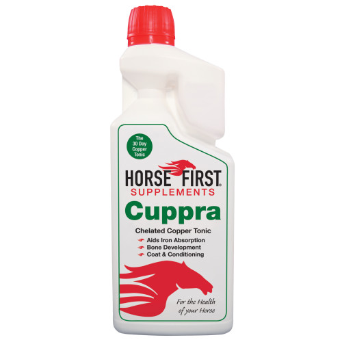 Horse First Cuppra Copper Tonic Horse Supplement 1 Litre