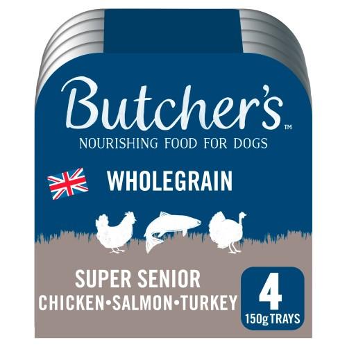 Butchers Super Senior Dog Food Trays 150g x 4