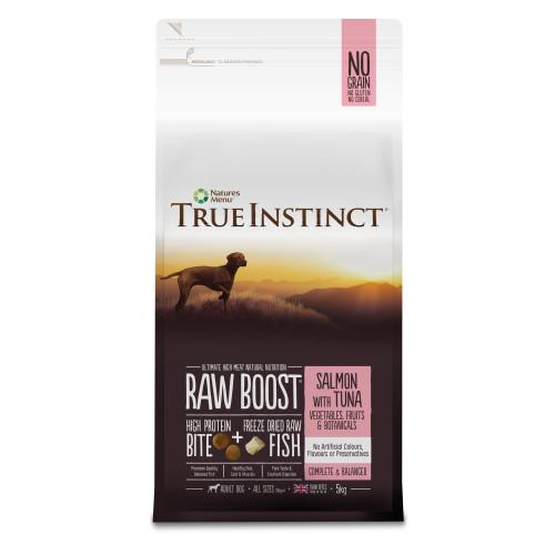 True Instinct Raw Boost Salmon & Tuna Adult Dry Dog Food 5kg