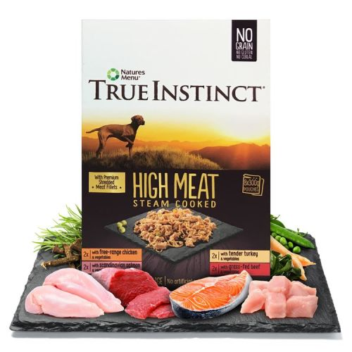 True Instinct High Meat Fillets Multipack Small Breed Adult Wet Dog Food 150g x 32