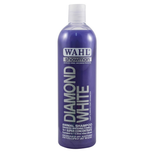 Wahl Showman Diamond White Shampoo 500ml