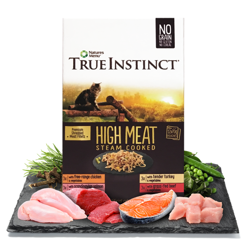 True Instinct High Meat Fillets Multipack Wet Adult Cat Food 70g x 48