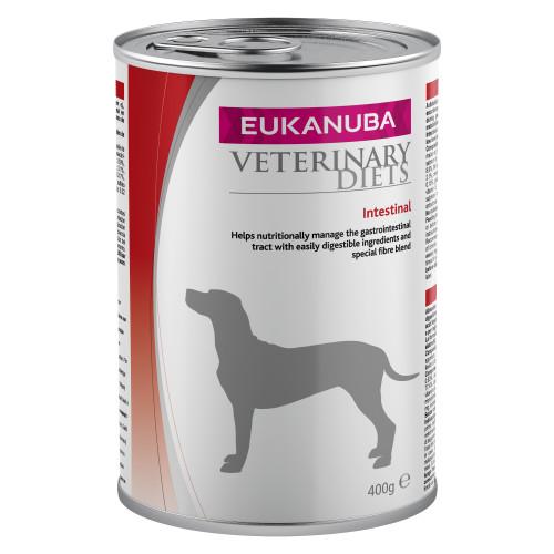 Eukanuba Veterinary Intestinal Adult Dog Food Tins 400g x 6