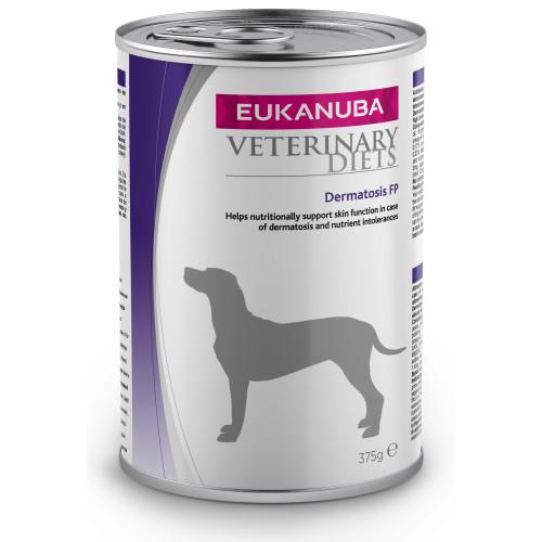 Eukanuba Veterinary Dermatosis FP Adult Dog Food Tins 375g x 6