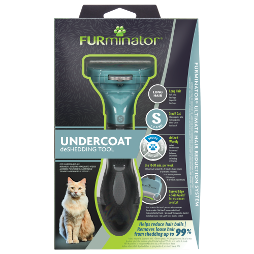 Furminator Cat Deshedding Tool Small Cat Long Hair