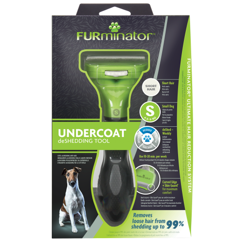 Furminator Dog Deshedding Tool Small Dog Short Hair