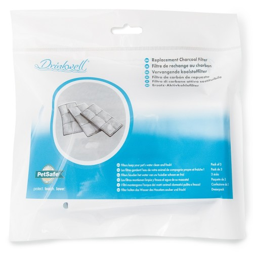 PetSafe Drinkwell Platinum Pet Fountain 3 x Replacement Filters