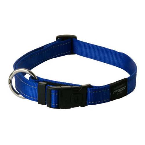 Rogz Utility Blue Dog Collar Large