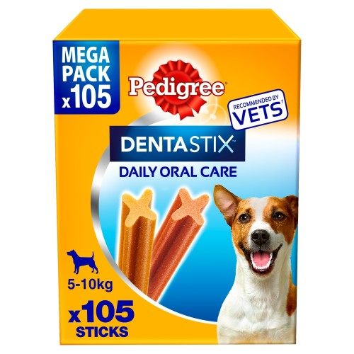 Pedigree Dentastix Small Dog Treats 105 Stick SAVER PACK