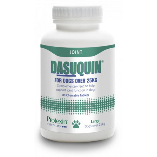 Protexin Dasuquin Joint Support Tablets for Dogs Large Dogs - 80 Tablets