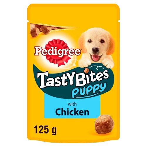 Pedigree Puppy Tasty Bites Puppy Treats 125g