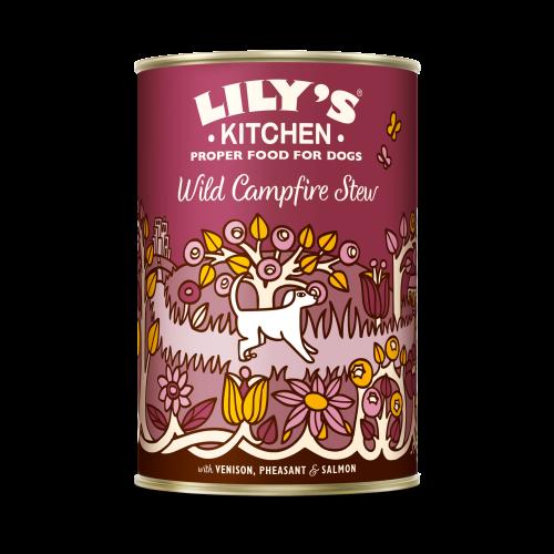 Lilys Kitchen Wild Campfire Stew Dog Food 400g x 6