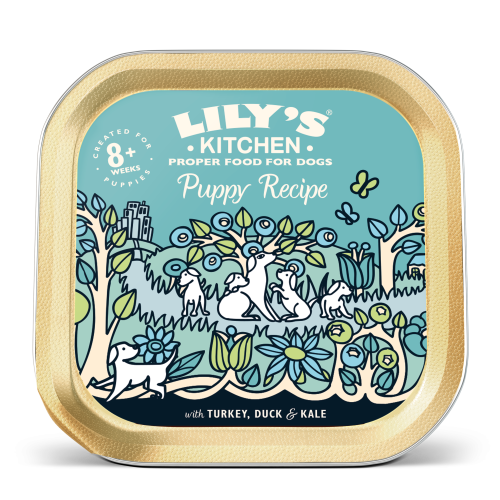 Lilys Kitchen Turkey & Duck Recipe for Puppies 150g x 10