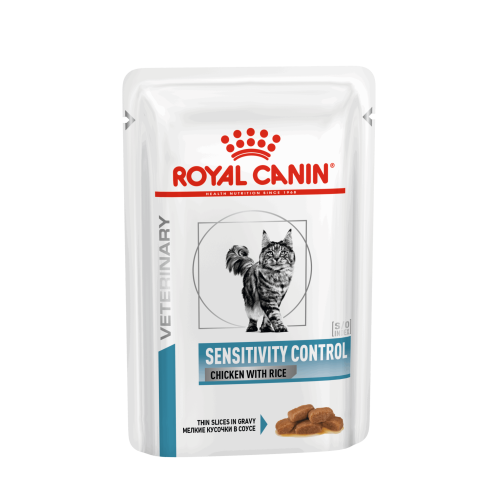 Royal Canin Veterinary Diets Sensitivity Control SO Cat Food 85g x 96