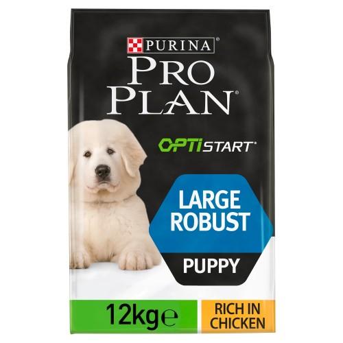 PRO PLAN OPTISTART Chicken Large & Robust Puppy Food 12kg