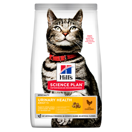 Hills Science Plan Feline Adult Urinary Sterilised Chicken 7kg x 2