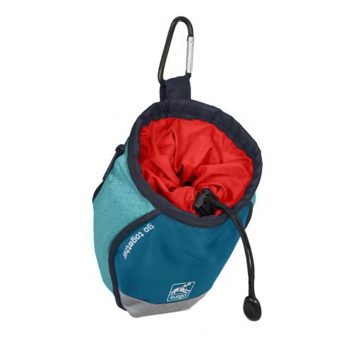 Kurgo Go Stuff It Treat Bag Coastal Blue