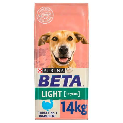 BETA Turkey Light Adult Dog Food 14kg