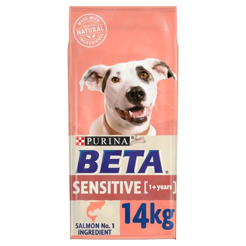 BETA Salmon & Rice Sensitive Adult Dog Food 14kg