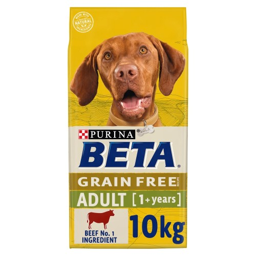 BETA Beef Grain Free Adult Dog Food 10kg