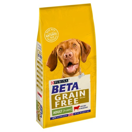 BETA Beef Grain Free Adult Dog Food 10kg x 2