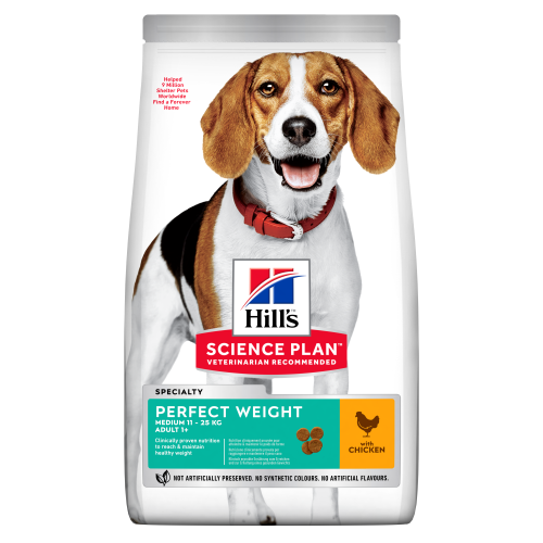 Hills Science Plan Canine Adult Perfect Weight Medium 2kg