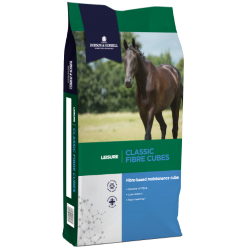 Dodson & Horrell Classic Fibre Cubes Horse Feed 20kg