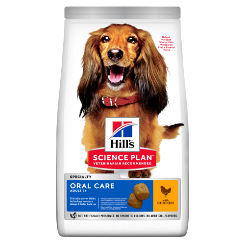 Hills Science Plan Canine Oral Care Chicken Adult Dry Dog Food 2kg