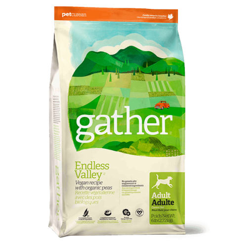 GATHER Endless Valley Vegan Recipe Dry Adult Dog Food 7.3kg
