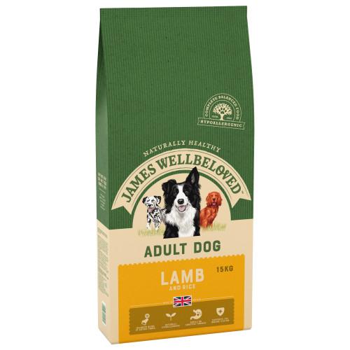 James Wellbeloved Lamb & Rice Adult Dog Food 2kg