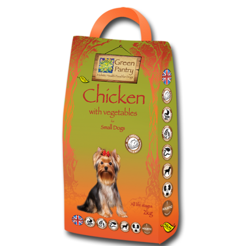 Green Pantry 80/20 Chicken Grain Free Small Dog Food 2kg