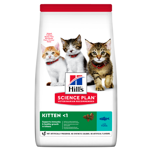 Hills Science Plan Tuna Dry Kitten Food 7kg