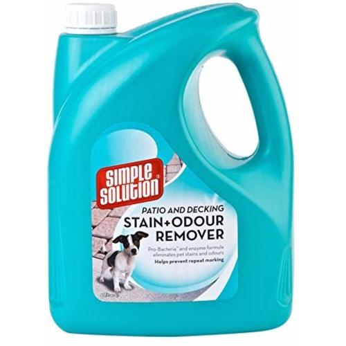 Simple Solution Patio & Deck Dog Stain and Odour Remover 4L