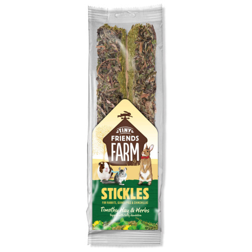 Supreme Stickles Small Pet Treats 100g Timothy Hay & Herbs