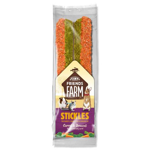 Supreme Stickles Small Pet Treats 100g Carrot & Broccoli