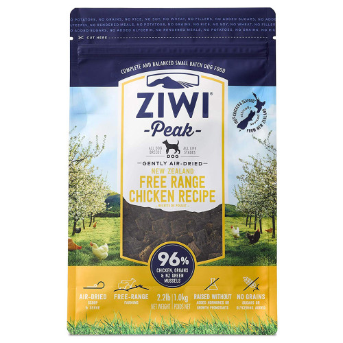 ZiwiPeak New Zealand Chicken Dry Dog Food 2.5kg