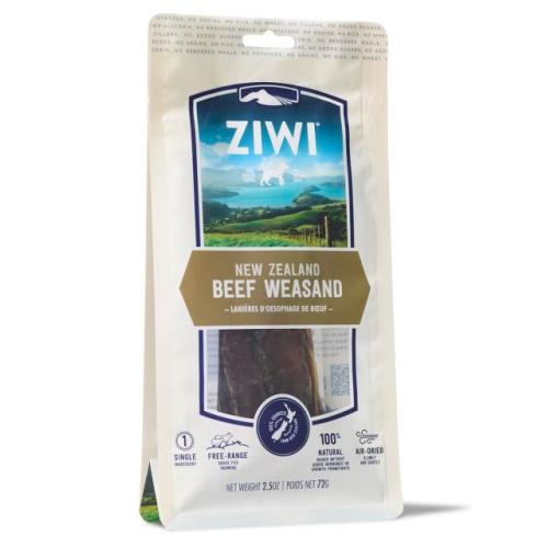 Ziwipeak Oral Health New Zealand Beef Weasand Dog Chew 72g