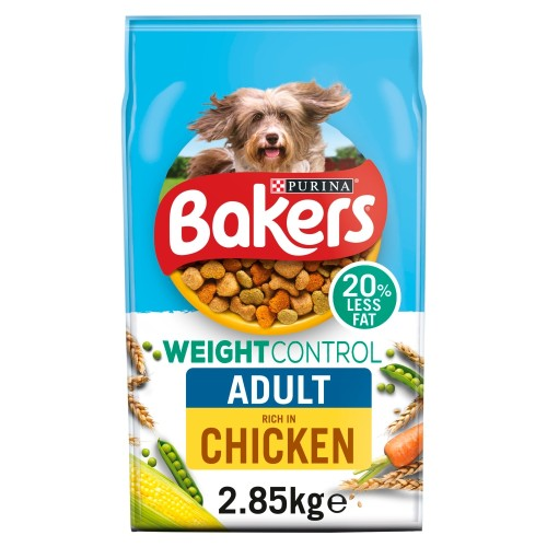 Bakers Chicken Weight Control Adult Dog Food 2.85kg