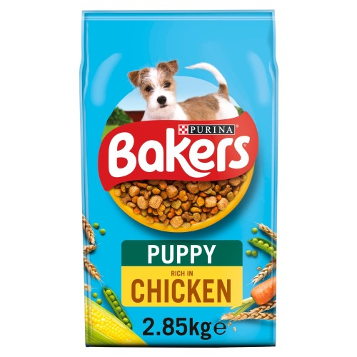 Bakers Chicken & Vegetable Puppy Food 2.85kg