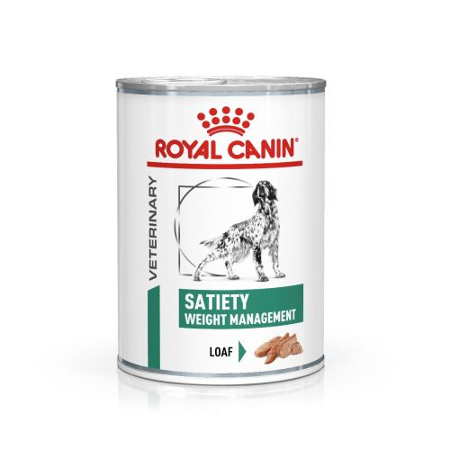 Royal Canin Veterinary Satiety Weight Management Wet Dog Food 410g x 12