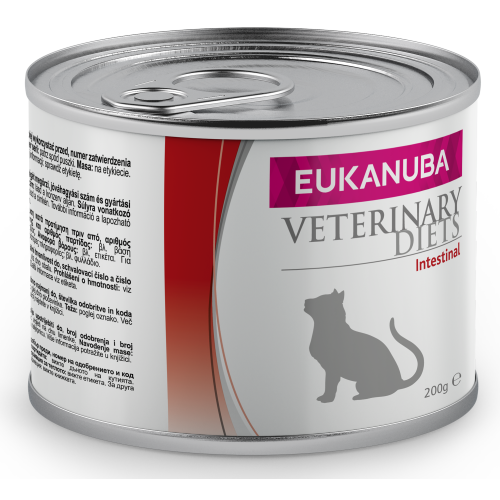 Eukanuba Veterinary Diets Intestinal Wet Adult Cat Food 200g x 6