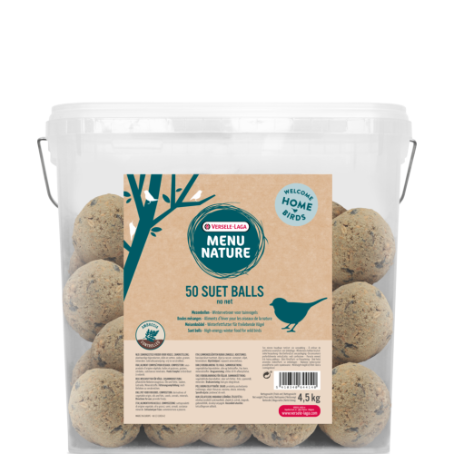 Versele Laga Menu Nature Fatballs for Wild Birds 50 Fatballs