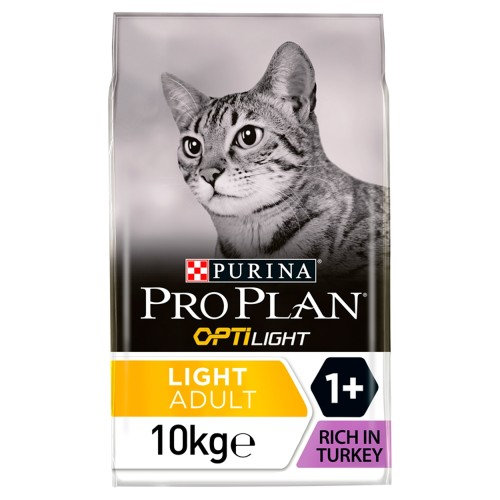 PRO PLAN OPTILIGHT Turkey Dry Adult Cat Food 3kg