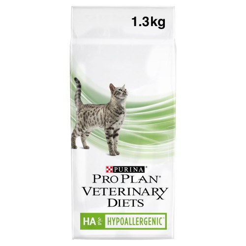 PURINA VETERINARY DIETS Feline HA Hypoallergenic Cat Food 1.3kg