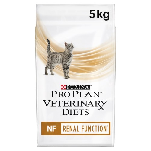 PURINA VETERINARY DIETS Feline NF Renal Function Cat Food 5kg x 2