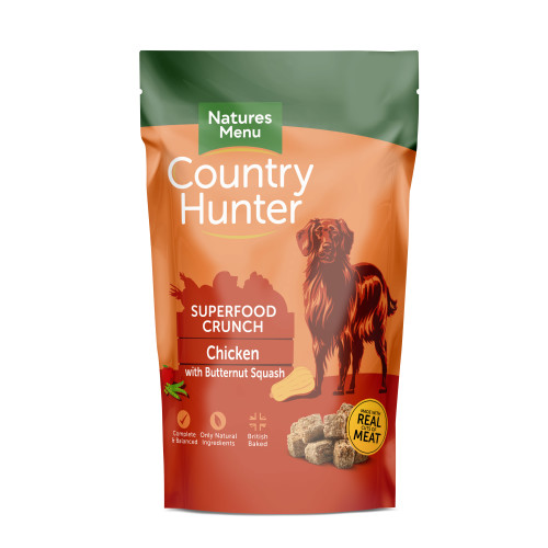 Natures Menu Country Hunter Superfood Crunch Chicken Adult Dry Dog Food 1.2kg x 6