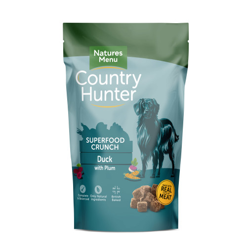 Natures Menu Country Hunter Superfood Crunch Duck Dry Adult Dog Food 1.2kg