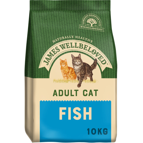 James Wellbeloved Adult Fish Cat Food 10kg